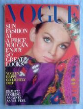 Vogue Magazine - 1970 - May